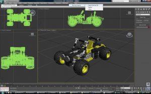 نرم افزار تری دی مکس 3D Max