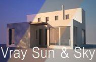 آموزش vray sun