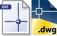 تفاوت فرمت DWG و DXF