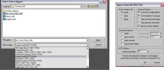 آموزش وارد کردن فایل اتوکد به تری دی مکس