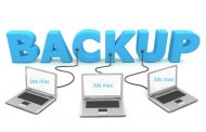 فعال کردن و تنظیم backup در تری دی مکس