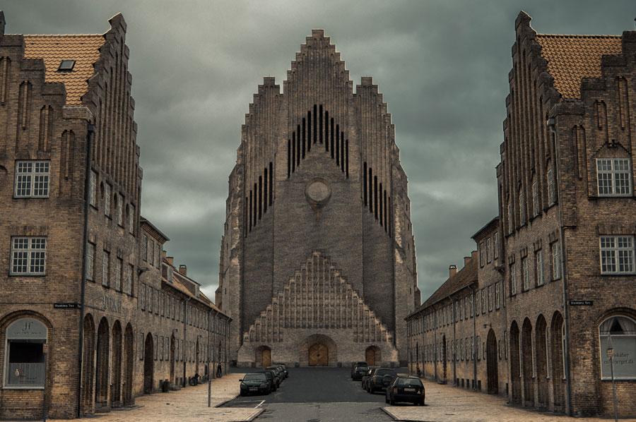 نمونه های معماری پست مدرن