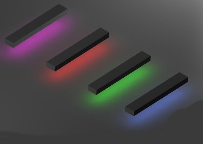 ساخت افکت نور لامپ نئون در تری دی مکس