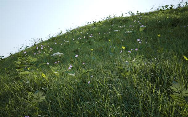 آموزش ساخت سبزه زار در وی ری