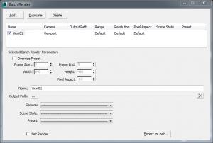 آموزش رندر گیری چند نما با batch render در تری دی مکس