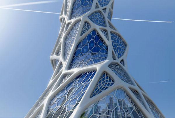 معماری بیونیک bionic architecture