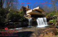 خانه آبشاری ( عکس - نقشه - فیلم - سه بعدی )