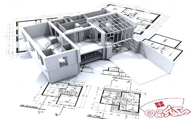 PDF نقشه کشی معماری