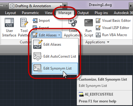 Command line in AutoCAD