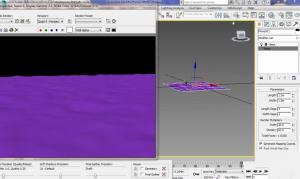 مدل سازی آب دریا در تری دی مکس
