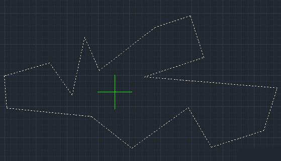 محاسبه مساحت در اتوکد
