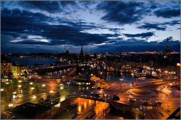 تحلیل فضای شهری استکهلم سوئد