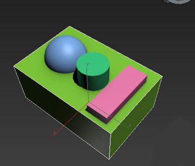ساخت شکل های ترکیبی در تری دی مکس
