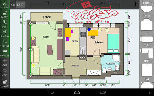 اپلیکیشن نقشه کشی معماری اندروید