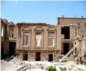 دانلود پاورپوینت مرمتی خانه صلح جو در تبریز