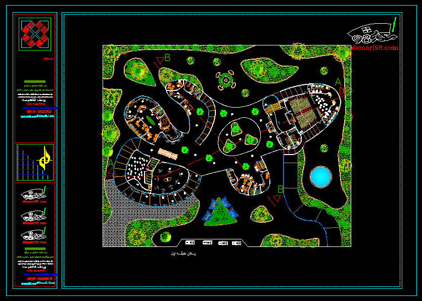 دانلود رایگان نقشه موزه هنر های معاصر