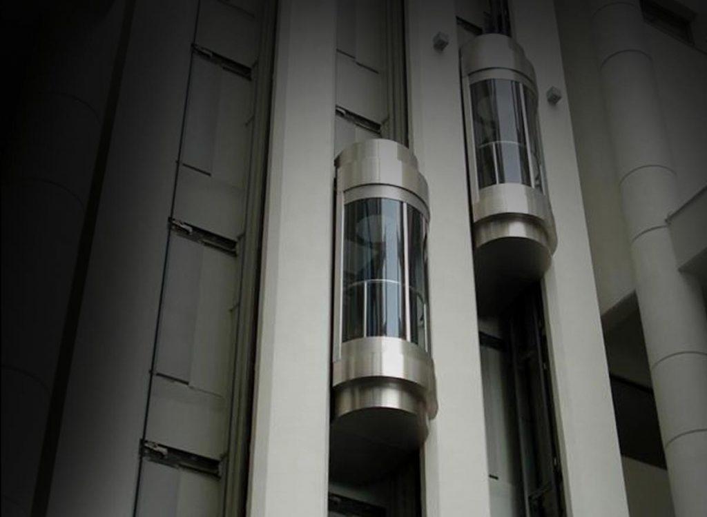 پاورپوینت تحلیل معماری پله و آسانسور