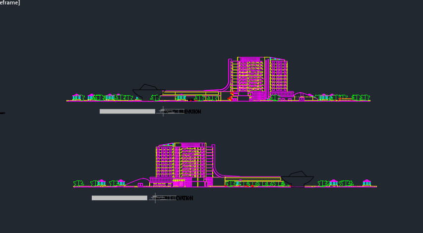 Full project of hotel architecture (4)