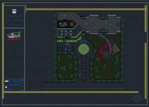 رساله خوابگاه دانشجویی به همراه نقشه های اتوکدی خوابگاه