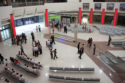 دانلود رایگان پاورپونیت فضا های پایانه مسافربری