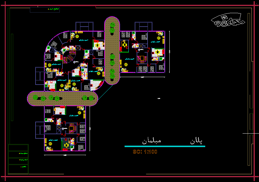 دانلود رایگان پروژه مجتمع مسکونی (3)