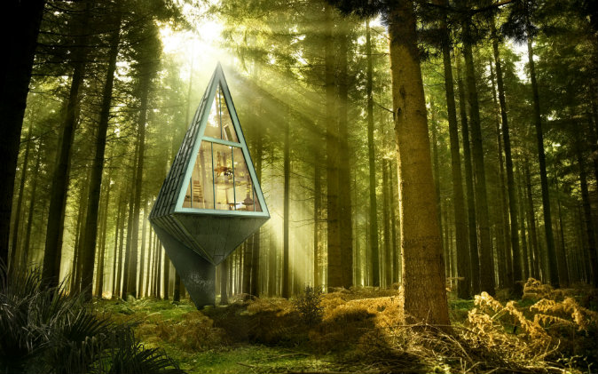 پاورپوینت معماری و محیط زیست