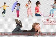 دانلود رایگان پرسوناژ کودک در حالات مختلف