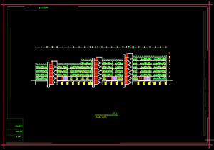 نقشه کامل مجتمع مسکونی ( اتوکد - رندر - تری دی مکس )
