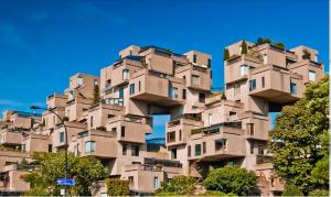 پاورپوینت تحلیل مجتمع مسکونی هبیتات habitat 67