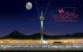 پاورپوینت مراحل اجرای پروژه برج میلاد