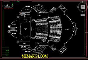 10 نقشه کامل آمفی تئاتر