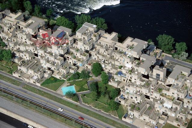 تحلیل معماری مجتمع مسکونی هبیتات 67 مونترال