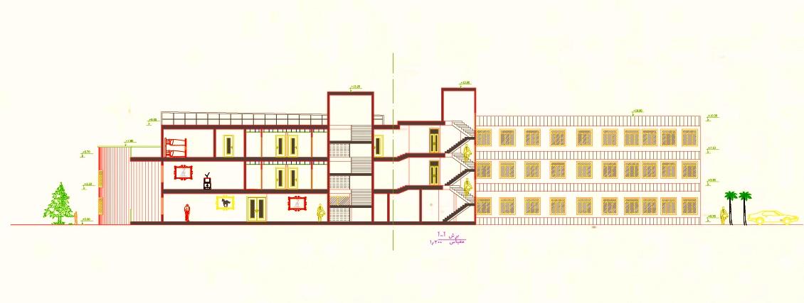پروژه خوابگاه ( شیت بندی - رندر - عکس )