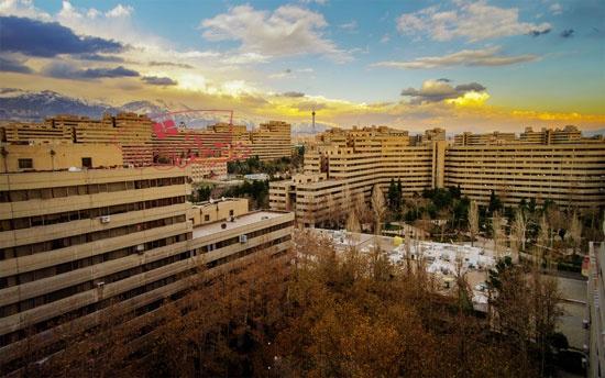 پاورپوینت بررسی شهرک اکباتان تهران
