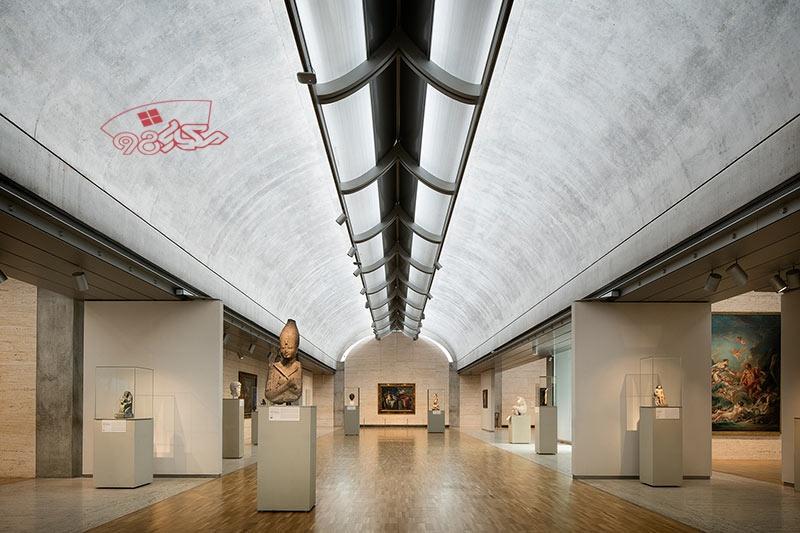 پاورپوینت کامل موزه هنر کیمبل
