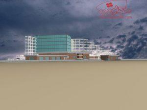 پلان اتوکدی موزه ( اتوکد - پوستر - psd - رندر )