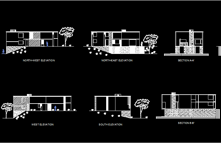 دانلود رایگان پلان خانه فیشر اثر لویی کان
