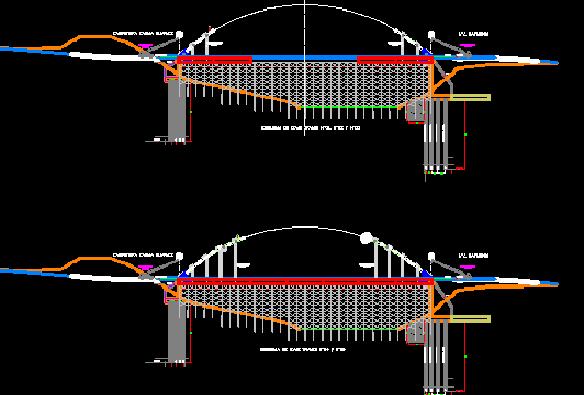 دانلود رایگان 2 نقشه فاز دو پل با تمامی جزئیات اجرایی