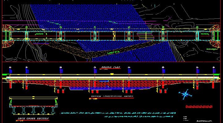 دانلود رایگان 2 نقشه فاز دو پل با تمامی جزئیات اجرایی (4)