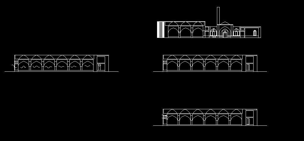 پروژه تحلیل مسجد جامع سرخ مهاباد ( نقشه - word - پاورپوینت )