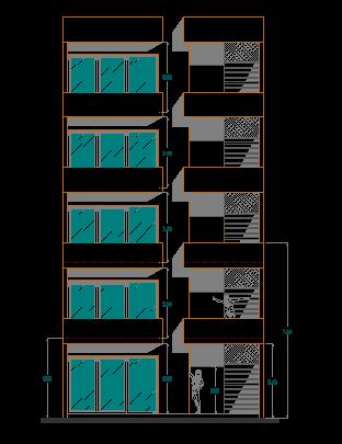 پلان آپارتمان مدولار همراه با پاورپوینت طراحی مدولار