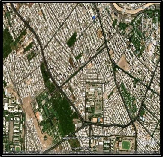 پاورپوینت تحلیل فضای شهری خیابان ستار خان و قصر و دشت تهران