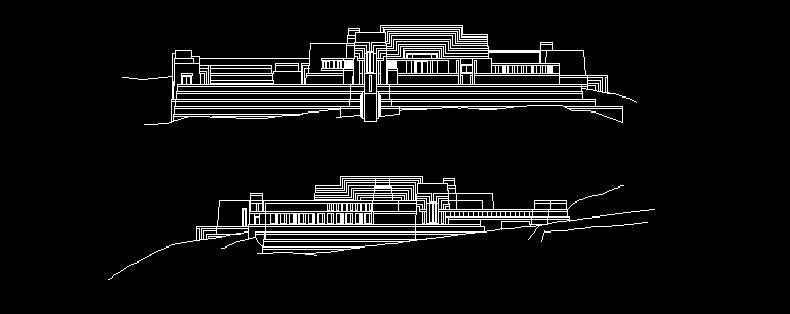 دانلود رایگان پلان خانه چارلز انیس اثر فرانک لوید رایت
