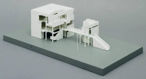 دانلود رایگان پلان خانه هنسلمن اثر مایکل گریوز