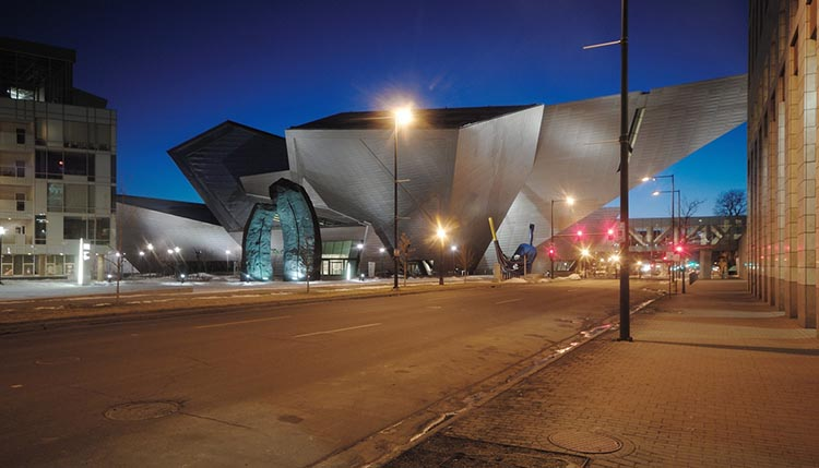 دانلود رایگان پاورپوینت تحلیل موزه هنر دنور آمریکا