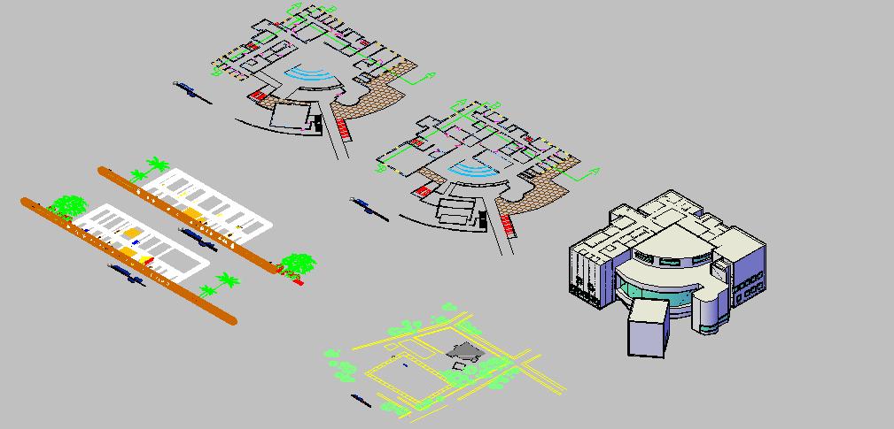 پاورپوینت تحلیل موزه هنر عالی ریچارد میر به همراه نقشه ها