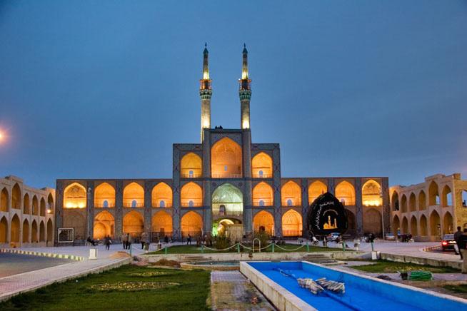 دانلود رایگان پاورپوینت مسجد امیر چخماق یزد