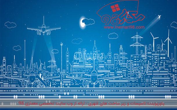 پاورپوینت تحلیل تاسیسات و زیر ساخت های شهری ( آرامستان ها )