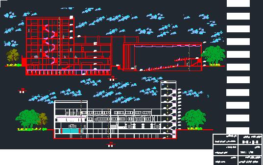 پلان کامل بازارچه ( اتوکد - رندر - پوستر - رساله - انیمیشن )