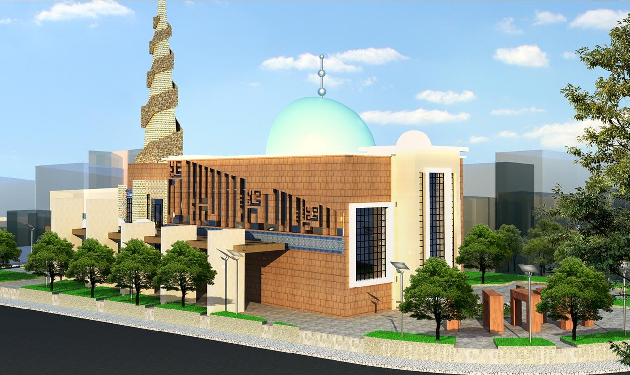 کاملترین پروژه مسجد